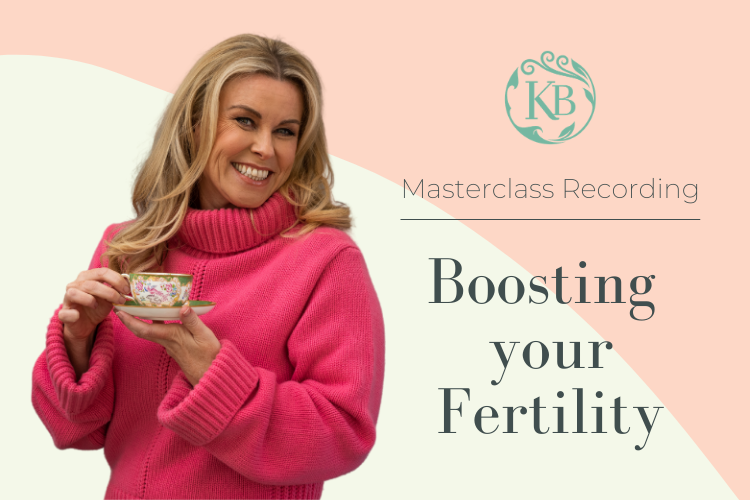 Boosting Your Fertility Masterclass Video - Katie Brindle